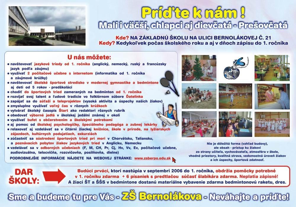 Základná škola na Bernolákovej 21 v Prešove 4b98c04f54d